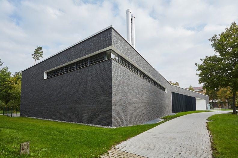 Projekt Krematorium Technik, Gebäude Aussenansicht