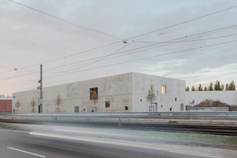 Projekt clubtraube, Gebäude Aussenansicht