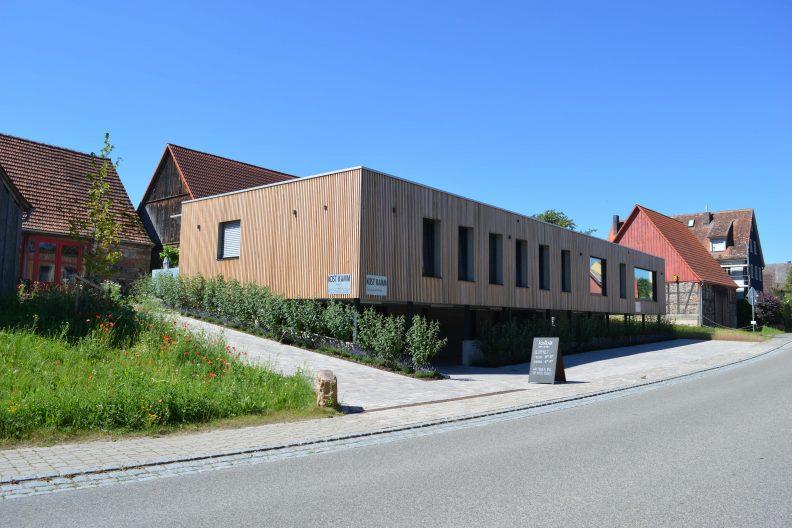 Projekt Kostkamm, Gebäude Aussenansicht