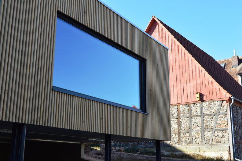 Projekt Kostkamm, Fassade