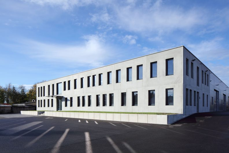 Ulm Baubetriebshof, Aussenansicht