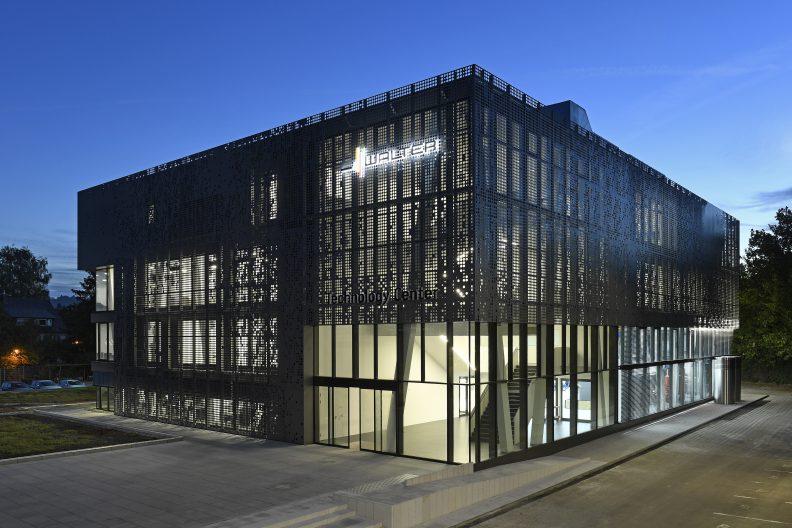 Technologiezentrum Walter, Aussenansicht