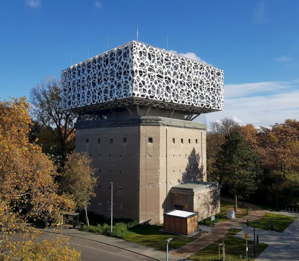 Creation Center BASF, Aussenansicht