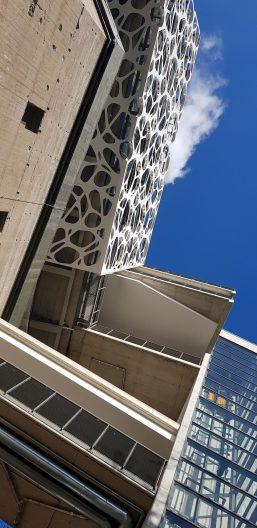 Creation Center BASF, Fassade