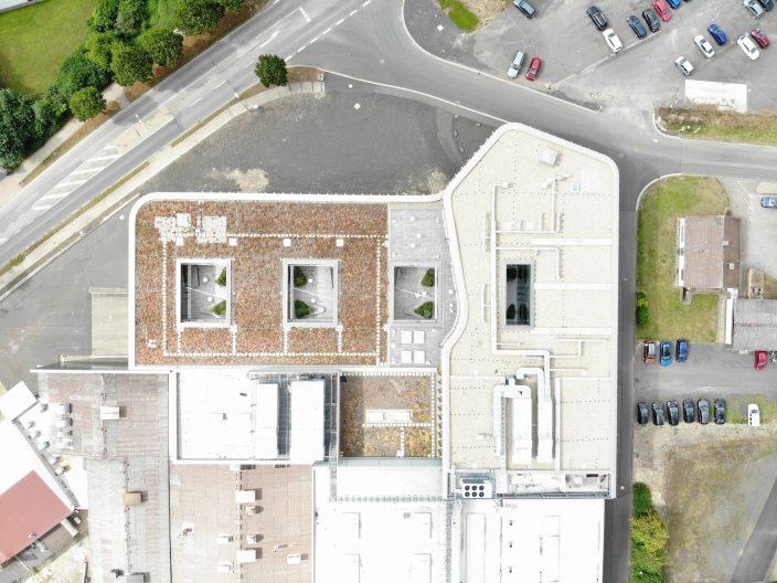 Firmenzentrale wikus, Blick von oben
