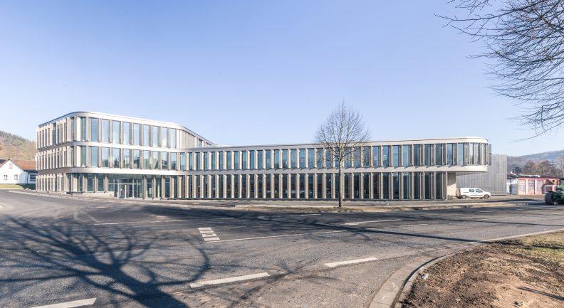 Firmenzentrale wikus, Aussenansicht