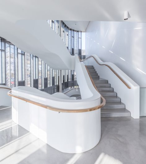 Firmenzentrale wikus, Treppe