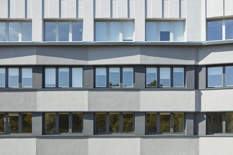 Energetische Gebäude- und Fassadensanierung Erbe GmbH, Fassade
