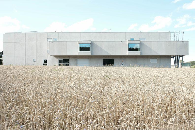 Produktionsgebäude Albgold, Aussenansicht
