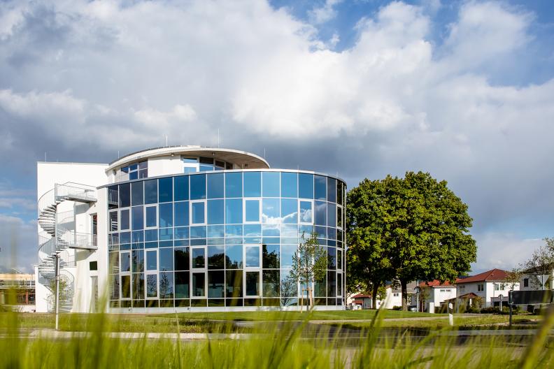 Produktionshalle ALMU, Aussenansicht
