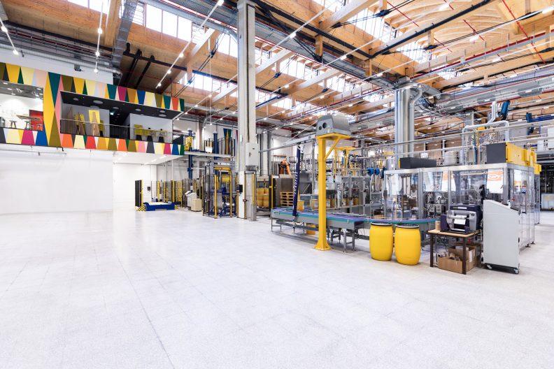 Adler-Werk Lackfabrik, Innenansicht
