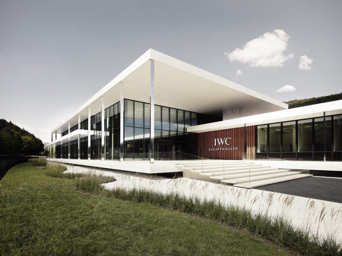 IWC Manufakturzentrum, Aussenansicht