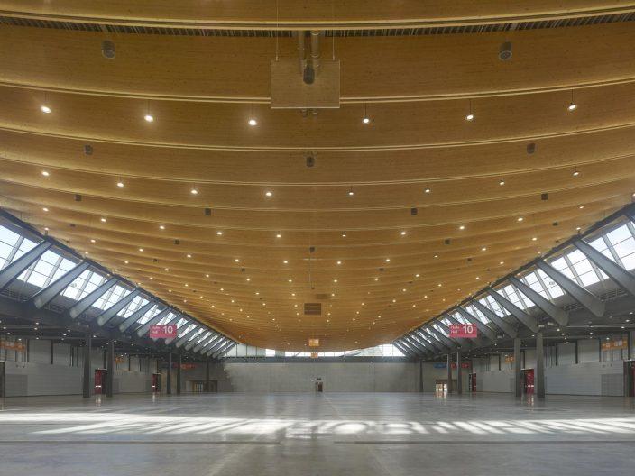 Messehalle 10 Stuttgart, Innenansicht