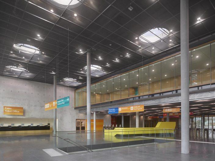 Messehalle 10 Stuttgart, Eingang West Foyer