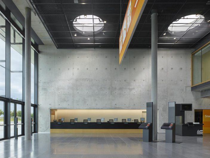 Messehalle 10 Stuttgart, Eingang West