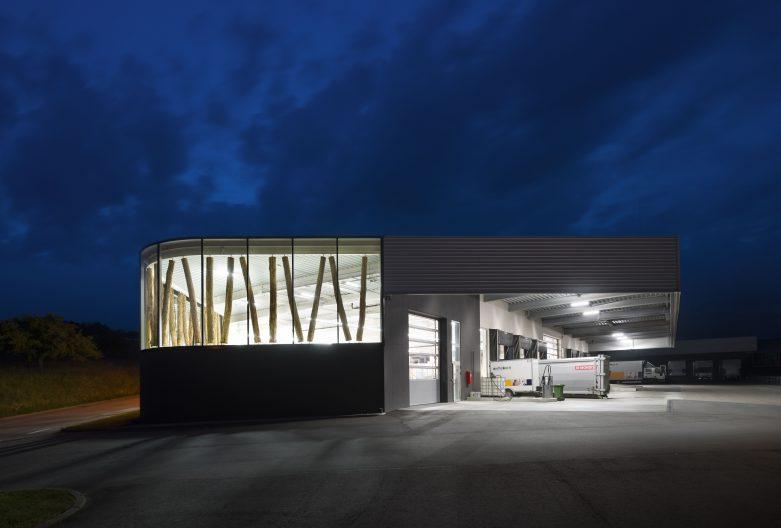 Neubau Logistik Zieflekoch, Aussenansicht