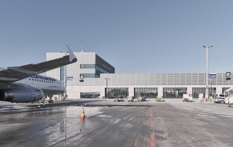 Fraport, Ansicht Süd