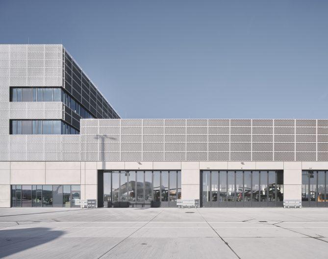 Fraport, Südfassade
