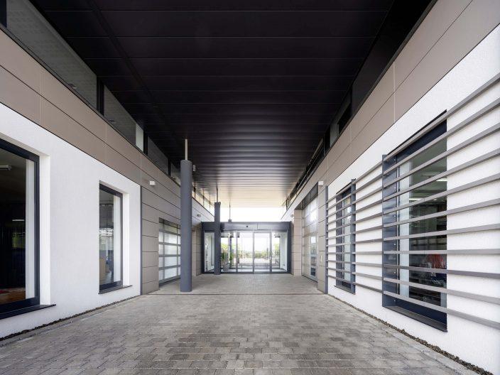 Metaline Werkhalle, Aussenansicht