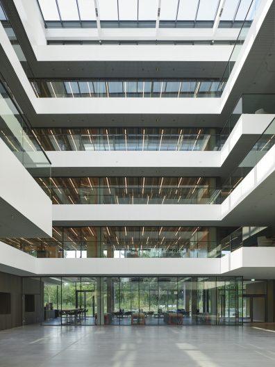 AEB Headquarters, Atrium