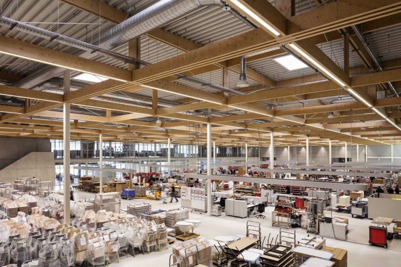 Brunner Innovation Factory, Innenansicht