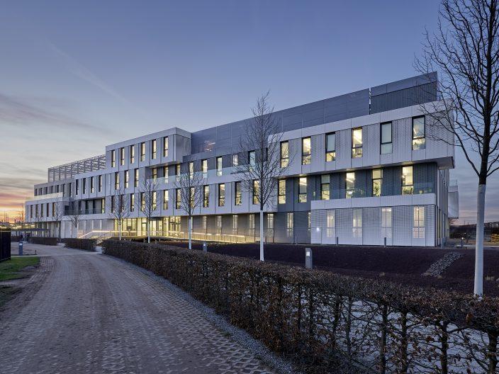 SAP Neubau WDF 53, Aussenansicht