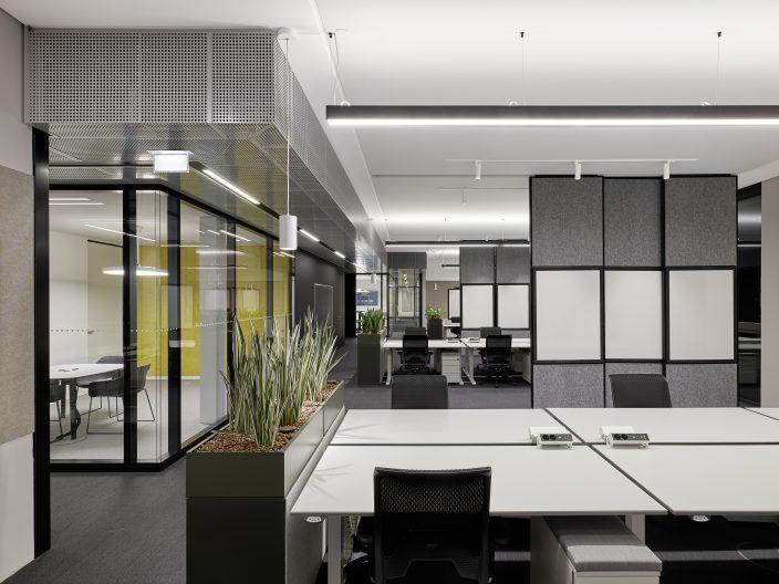 SAP Neubau WDF 53, Innenansicht