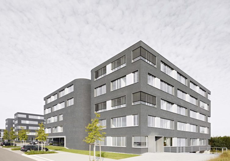 TTR Reutlingen Büro- und Laborgebäude, Aussenansicht
