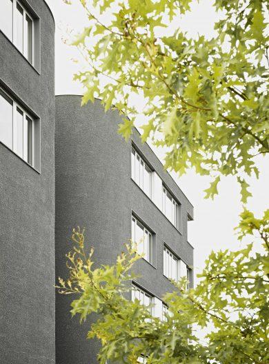 TTR Reutlingen Büro- und Laborgebäude, Fassade