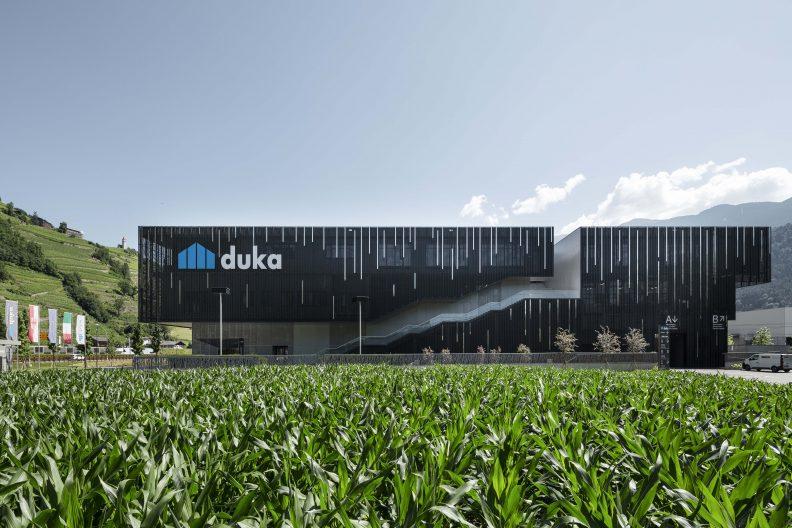 Firmensitz Duka, Aussenansicht