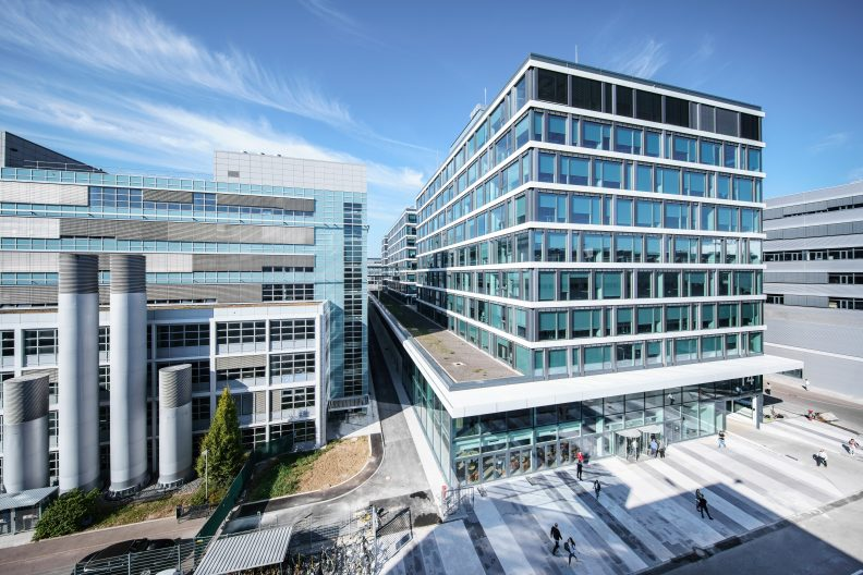 Engineering Hub Operations, Daimler AG, Aussenansicht