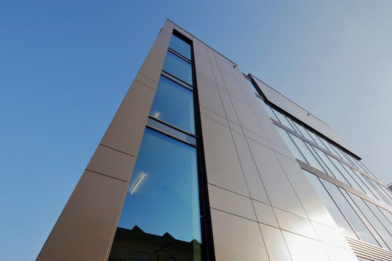 Projekt teamtechnik, Fassade