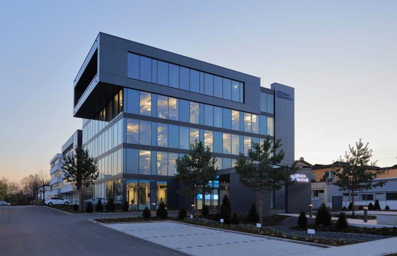 Projekt teamtechnik, Gebäude Aussenansicht