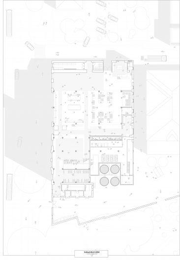 Schlachthof 2050_Grundriss Erdgeschoss