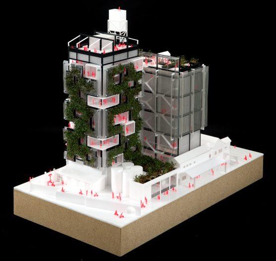 Schlachthof 2050_Modell