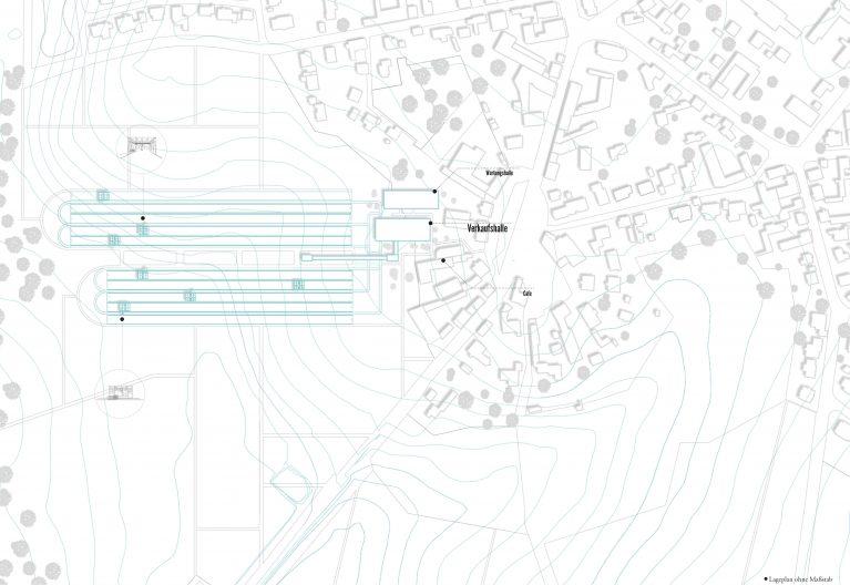 Lageplan Transportsystem