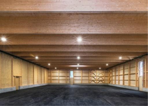 Projekt Fundusgebäude, Innenansicht