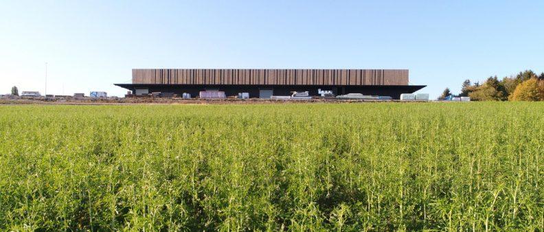 Holzbau Zukunftwerkstatt, Aussenansicht