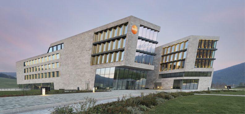 Firmensitz Testo, Aussenansicht
