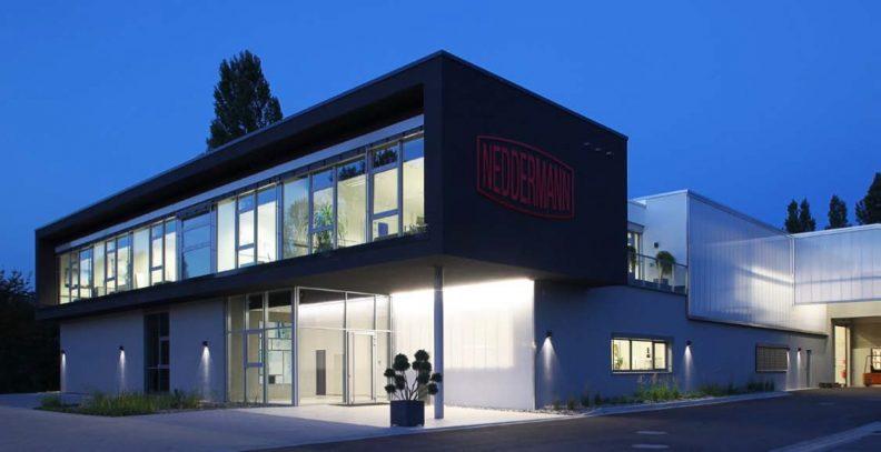 Produktionshalle Neddermann, Aussenansicht
