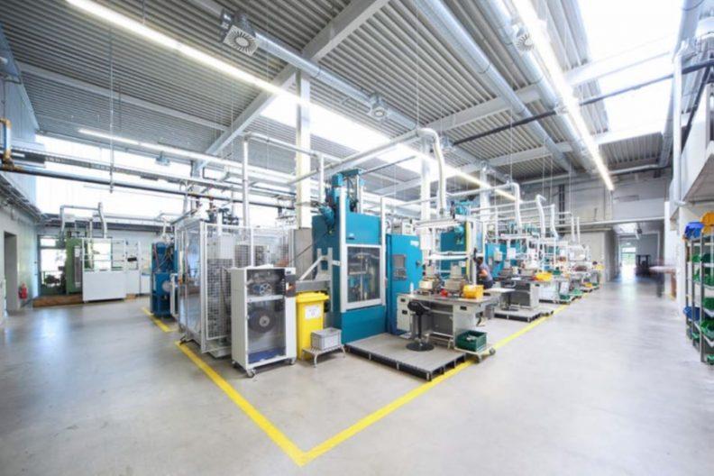 Produktionshalle Neddermann, Innenansicht