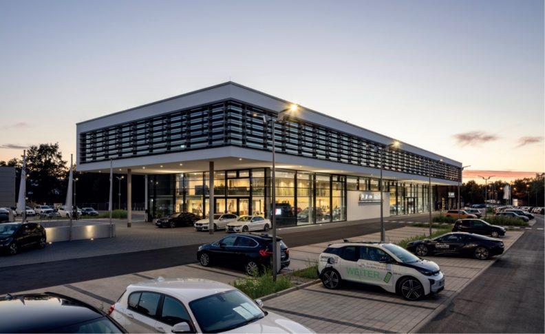 Multifunktionsgebäude Martin, Aussenansicht