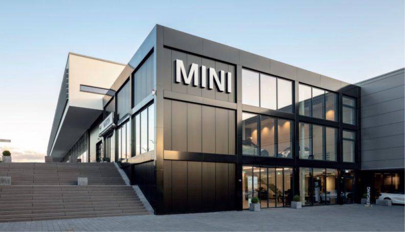 Multifunktionsgebäude Martin, Fassade