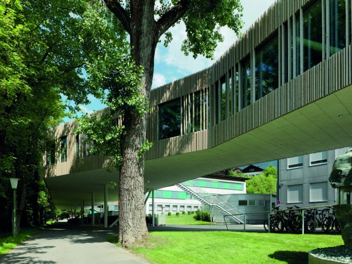 Campus Technik Lienz, Fassade