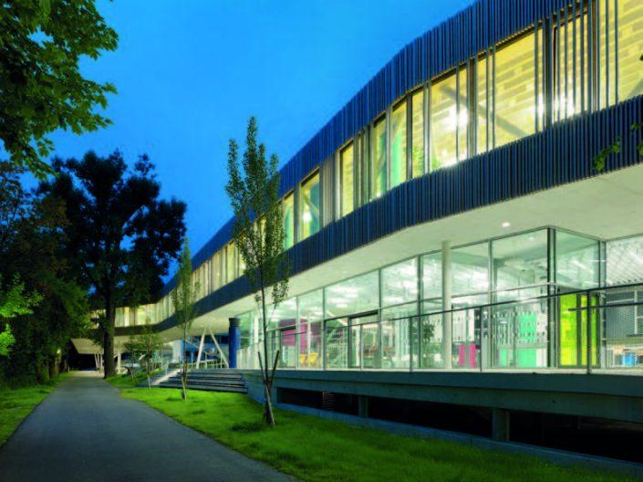 Campus Technik Lienz, Aussenansicht