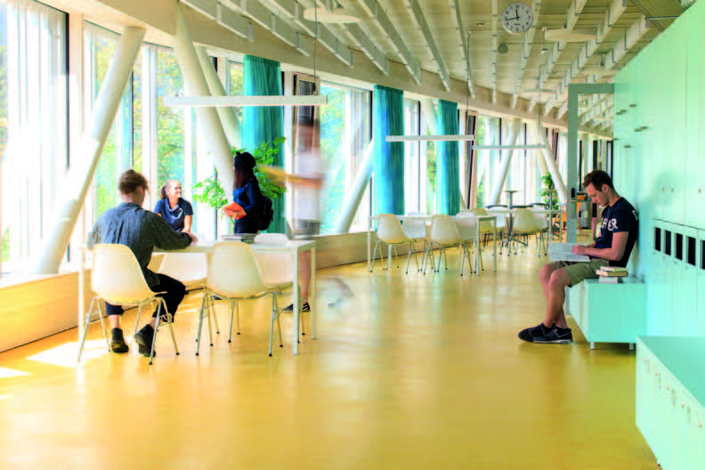 Campus Technik Lienz, Innenansicht