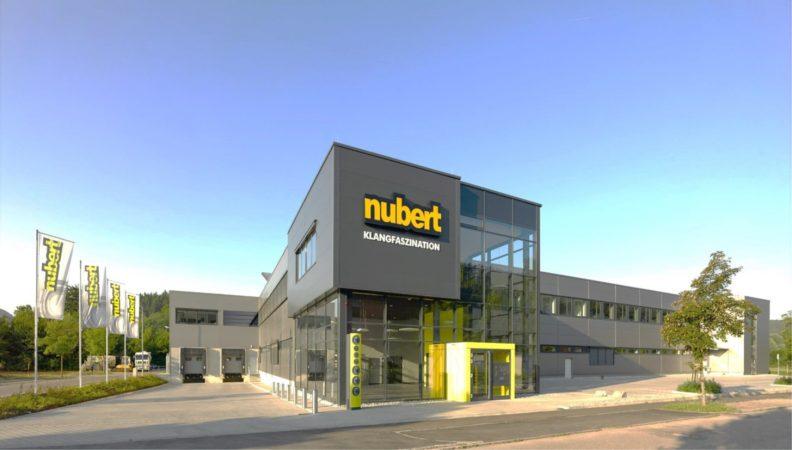 Vertriebszentrum Nubert, Aussenansicht