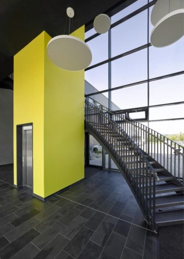 Vertriebszentrum Nubert, Treppe
