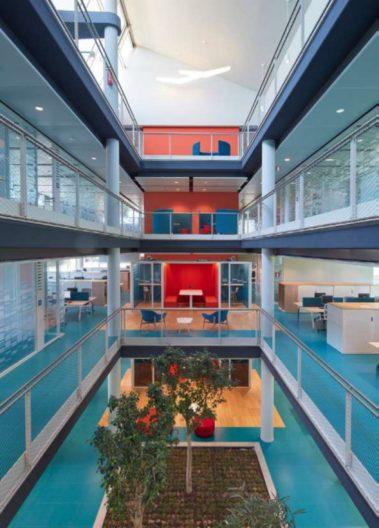 Green Life HQ, Innenansicht