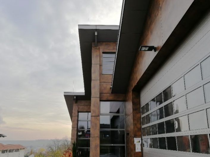 Kelterei mit Weinlager, Fassade